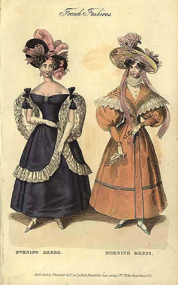 The Neo Gothic Influence In Fashion History Dress Fashions Was At Its Peak During Romantic Era Between 1825 And 1835 Spirit Fashionable